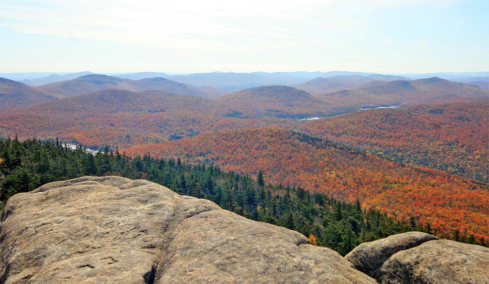 Adirondack Views from top of mountain